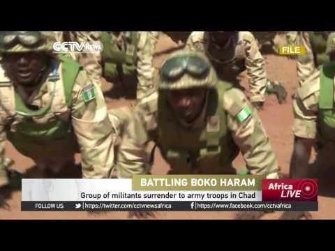 Group Of Boko Haram Militants Surrender To Army Troops In Chad