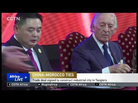 China-Morocco Sign Trade Deal To Construct Tech City In Tangiers