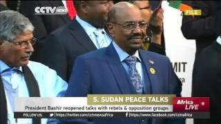 President Bashir Reopens Talks With Rebel And Opposition Groups