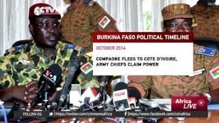 Burkina Faso's History Of Turmoil