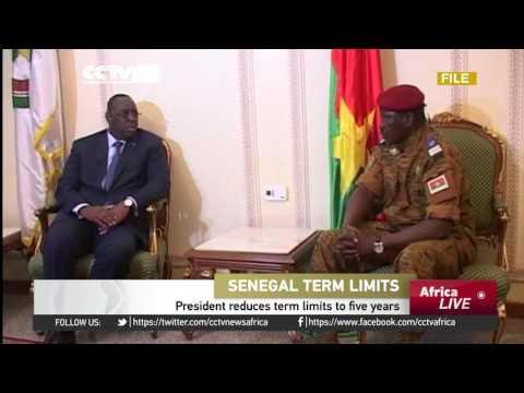 President Macky Sall Reduces Term Limits From Seven To Five Years