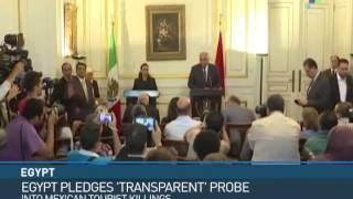 Egypt Pledges Transparent Probe Into Mexican Deaths