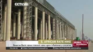 South Africa's Reserve Bank Raises Interest Rates
