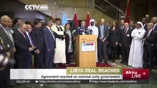Libya Agree On National Unity Government