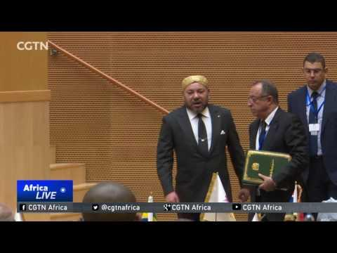 28th AU Summit: A Moroccan King Addresses The AU For The First Time In 33 Years