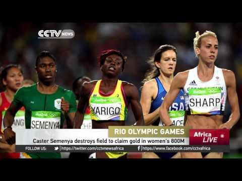 Caster Semenya Destroys Field To Claim Gold In Women's 800M