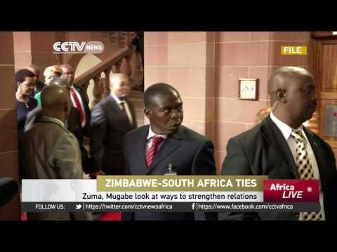 Zuma, Mugabe Look At Ways To Strengthen Ties