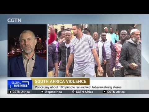 More Looting Of Foreign-owned Shops In Johannesburg