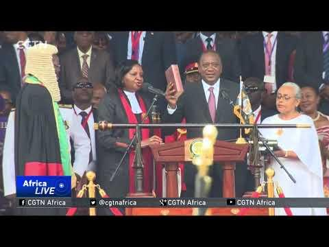 Kenya's President Uhuru Kenyatta Sworn In For Second Term