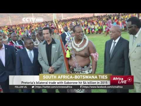President Jacob Zuma Hosts Botswana President In Pretoria