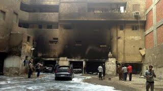 Fire At Furniture Factory In Egypt Kills 25 People
