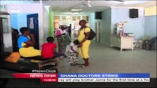 Public Hospitals In Ghana Paralysed Due To Doctors Strike Over Conditions Of Service