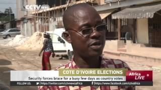 Cote D'Ivoire Security Forces On High Alert Ahead Of Poll Results