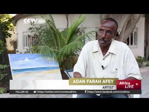 Mogadishu Artist Uses Works To Inspire A Challenged Nation