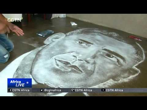 South African Artist Uses Table Salt To Create Unique Images