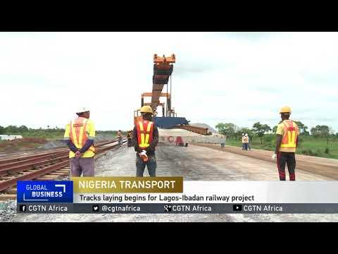 Track-laying Begins For Lagos-Ibadan Railway Project