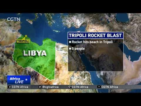 Tripoli Rocket Blast: Rocket Hits Beach In Libyan Capital, 5 People Dead
