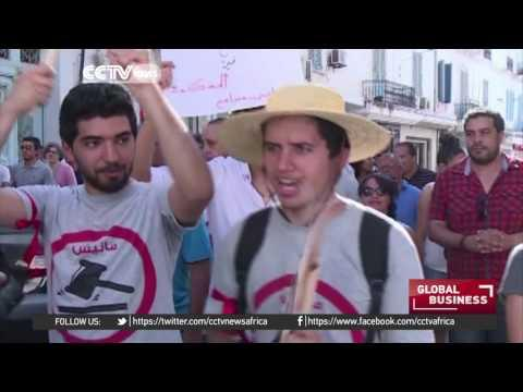 Tunisians Protest Against Law That Seeks To Pardon Corruption