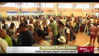 Plane Crash In Egypt Damaging Tourism Sector
