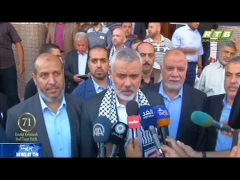 Hamas Leader Offers Sympathy Over Egypt Deaths