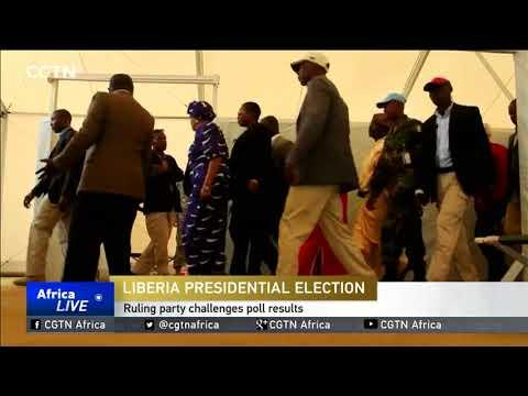 Liberia's Ruling Party Challenges Poll Results