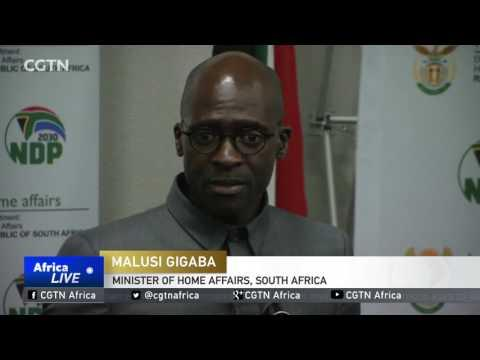 South Africa Foreign Affairs Minister Holds Talks With 30 African Ambassadors