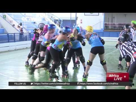First National Roller Derby Tournament Held In South Africa