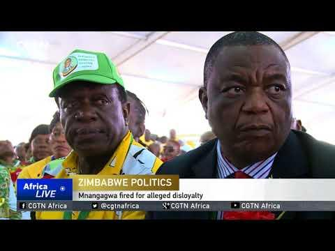 Zimbabweans Have Mixed Reactions To Vice President's Sacking