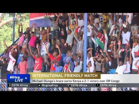 Michael Olunga's Brace Earns Kenya A 2-1 Victory Over DR Congo