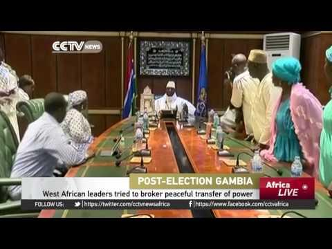 Pressure Mounts On President Jammeh To Concede Defeat