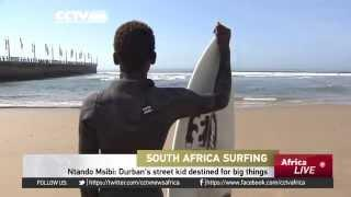 Ntando Msibi: From Street Child To Surfer