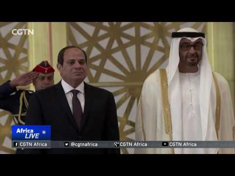 President Sisi Is In United Arab Emirates For Bilateral Talks