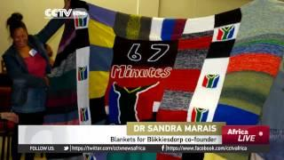 67 Blankets Knit In Honor Of Mandela