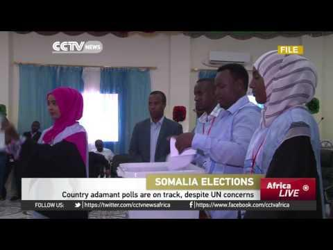 Somalia Adamant Polls Are On Track Despite UN Concerns