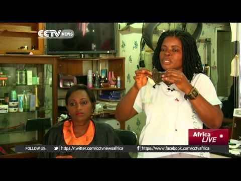 Women In Cameroon Meet In Hair Salons To Discuss HIV Awareness, Prevention