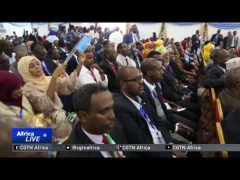 Regional Leaders Attend Swearing-in Of Somali President Farmajo