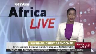 Violence Disrupts Kinsasha Derby