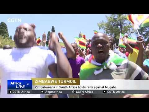 Zimbabweans In South Africa Holds Rally Against Mugabe