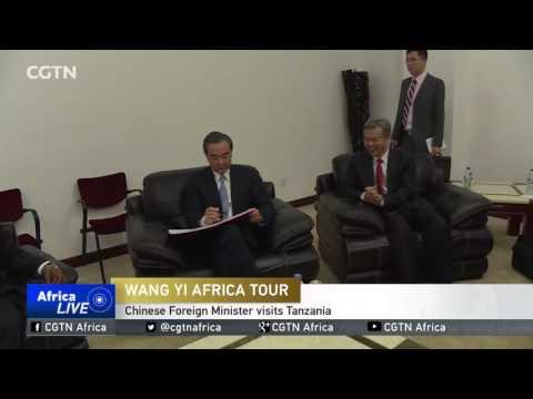 Chinese Foreign Minister Visits Tanzania