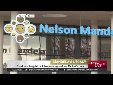 Children's Hospital In Johannesburg Realizes Madiba's Dream