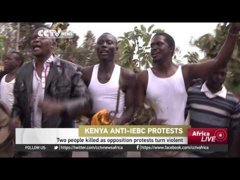 Two People Killed As Opposition Protests In Kenya Turn Violent