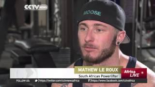 South African Powerlifter Aims To Compete Internationally
