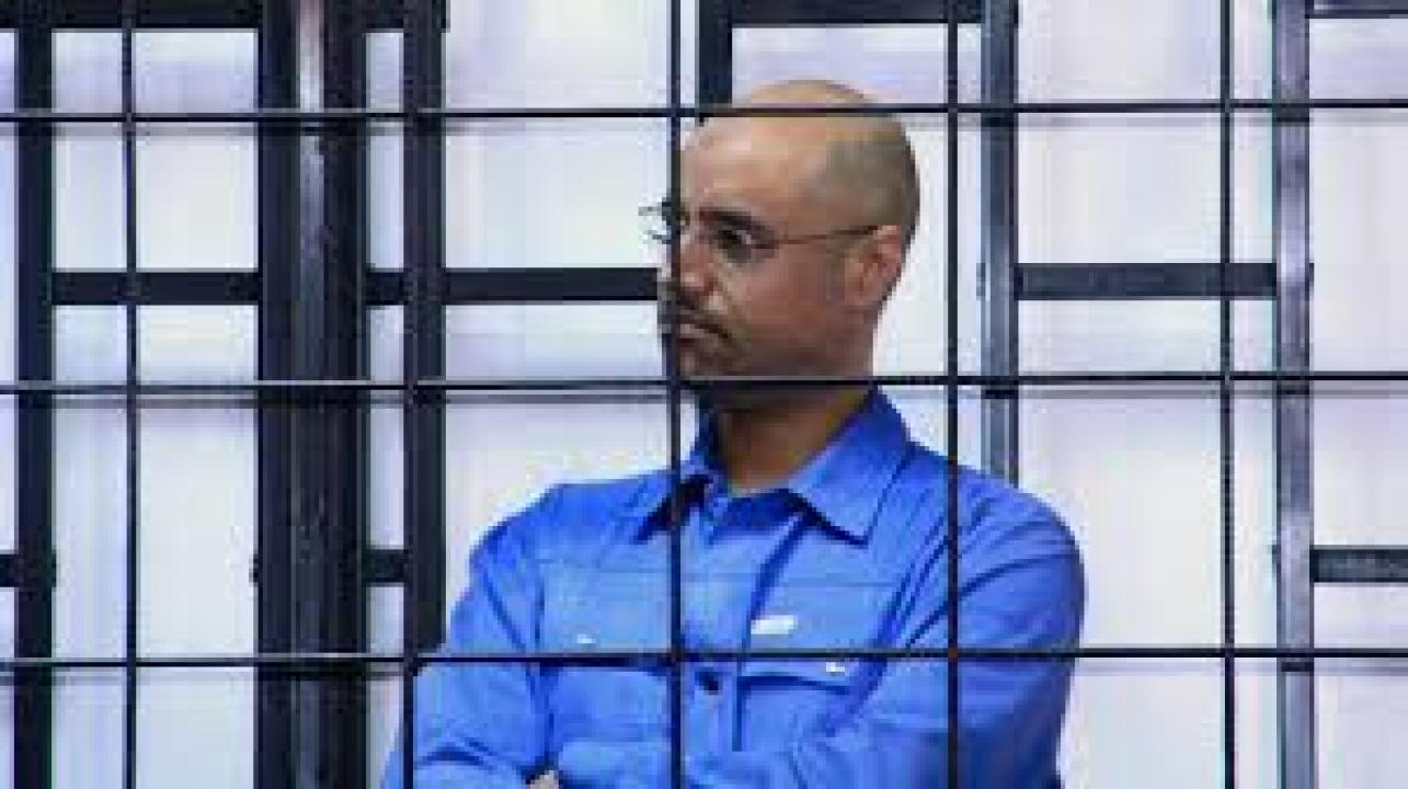 Libyan Court Sentences Gaddafi Son To Death
