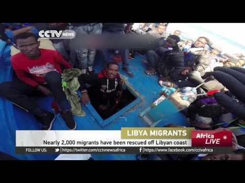 Nearly 2,000 Migrants Have Been Rescued Off Libyan Coast