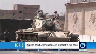 Egyptian Court Orders Release Of Mubarak's Two Sons