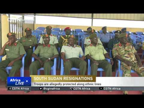 More Military Officials Quit In South Sudan, Citing High-level Interference