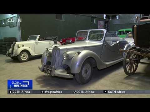 Former Stuntman Builds Up Iconic Vintage Car Collection In Egypt