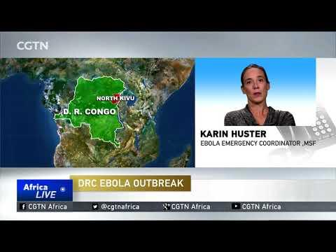 Healthcare Workers Battle To Contain Spread Of Ebola Virus