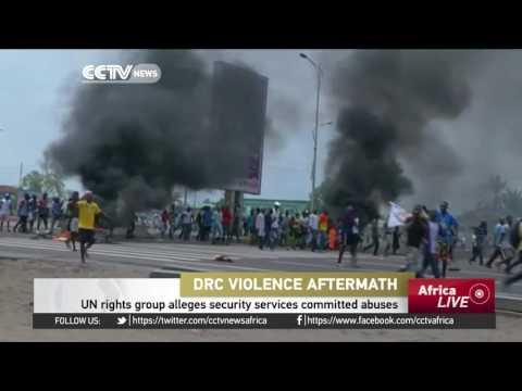 UN Rights Group Alleges DR Congo Security Services Committed Abuses