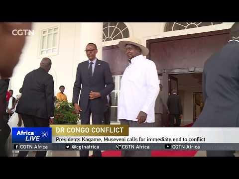 Presidents Kagame, Museveni Calls For Immediate End To Conflict